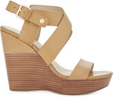 Aldo Faustina leather wedge sandals