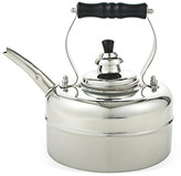 One Kings Lane 3 Qt Windsor Whistling Teakettle - Silver - kettle, silver; handle, black