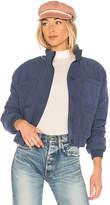 Tularosa x REVOLVE Jade Jacket in Blue. - size L (also in M,S,XL,XS,XXS)