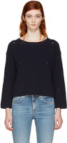 Rag & Bone Navy Lara Sweater