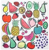 Anna Coroneo 'Mixed Fruit Sorbetto' modal blend scarf