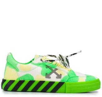 Off-White Vulcanized tie-dye sneakers