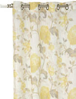 Home Outfitters Evita Sheer Printed Grommet Curtain