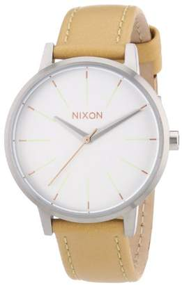 Nixon Women's Quartz Watch Analogue Display and Leather Strap A1081603-00