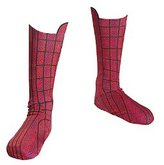 Disguise Boys Spiderman Movie Boot Covers