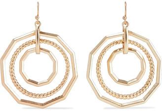 Kenneth Jay Lane 22-karat Gold-plated Earrings