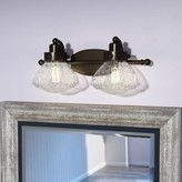 Laurèl Chilton 2-Light Vanity Light Foundry Modern Farmhouse