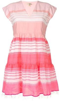 Lemlem Fringed Hem Beavch Dress