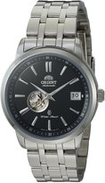 Orient Men's 'Agent' Japanese Automatic Stainless Steel Dress Watch, Color:Silver-Toned (Model: SER02002B0)