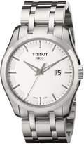 Tissot Men's T0354101103100 Couturier Stainless Steel Bracelet Watch