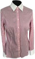 Trussardi Jeans Pink Cotton Top for Women