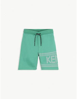 Kenzo Cotton jersey logo shorts 4-14 years