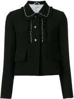 Miu Miu embellished Cady blazer