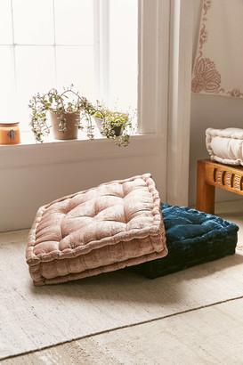 Urban Outfitters Ruthie Velvet Floor Pillow