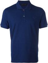 Prada logo patch polo shirt - men - Cotton - S