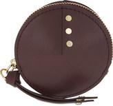 Sandro Petite Bonnie leather coin purse