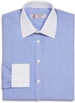 Turnbull & Asser Striped Banker Regular Fit Dress Shirt