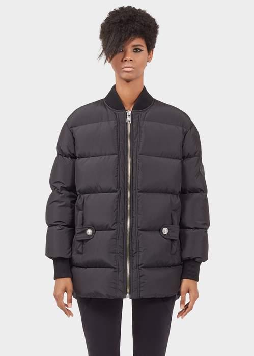 Versace Front Zip Down Jacket