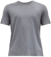 Jacques - Bonded Seam Jersey Performance T Shirt - Mens - Grey