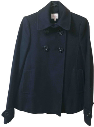 Whistles Navy Wool Coats