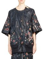 Sacai Floral Embroidered Top