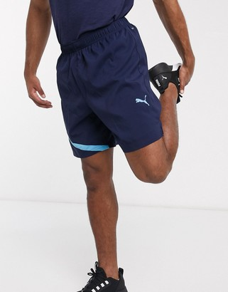 Puma exclusive to ASOS Running shorts in navy