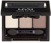 NYX Love in Rio Eye Shadow Palette, Barefoot in The Sand, 0.11 Ounce