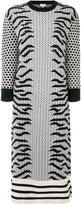 Kenzo Geo Tiger knitted dress