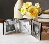Pottery Barn Travel Clock with Frame