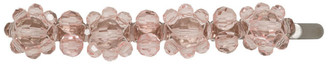 Simone Rocha Pink Crystal Flower Hair Clip