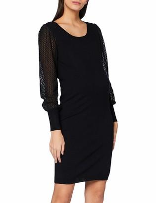 Mama Licious Mamalicious Women's MLMADIA L/S Mix ABK Dress