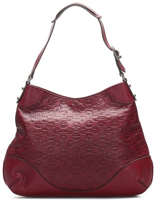 Gucci Pre-Owned Horsebit monogram shoulder bag
