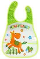 Panda Superstore 2 Pcs Durable Running Horse Showerproof Comfortable Baby Bib/Baby Apron