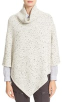 Joie Women's Haesel C Nep Wool Blend Poncho Sweater