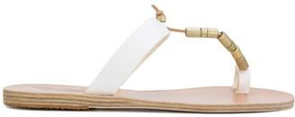 Ancient Greek Sandals Iris Column Beads sandals