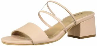 Kaanas Women's Malta Open Toe Low Heel City Slide Sandal Shoe Heeled