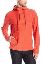 Lucky Brand Men's Grey Label Popover Hooded Sweatshirt