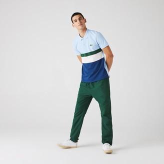 Lacoste Men's Regular Fit Colorblock Cotton Pique Polo
