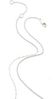 Jennifer Zeuner Jewelry Horizontal Bar Necklace with Diamond