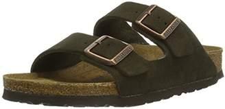 Birkenstock Arizona, Unisex-Adults' Sandals, Brown (MOCCA SOFT FOOTBED)