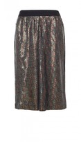 Tibi All Over Sequins Skirt