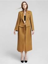 Calvin Klein Collection Double Faced Cashmere Coat