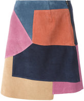 MiH Jeans Kalle skirt - women - Calf Suede - S