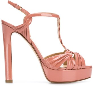 Francesco Russo Platform Open-Toe Sandals