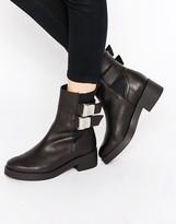 Miista Jodi Chunky Buckle Boots