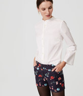 """LOFT Petite Breezy Floral Riviera Shorts with 3 1/2"""" Inseam"""