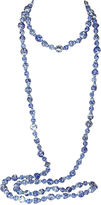 One Kings Lane Vintage Blue & White Chinese Bead Necklace