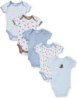 Starting Out Baby Boys 5-Pack Cowboy Bodysuits