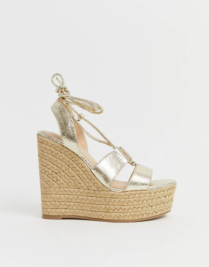 dbe207f38fc75 Tie Up Wedges - ShopStyle