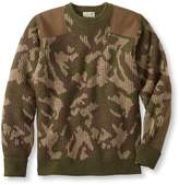 L.L. Bean Commando Sweater, Camouflage Crewneck